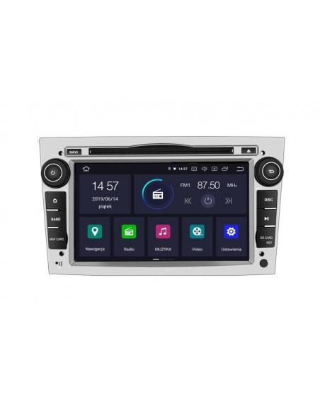 Radio_2_din_srebrny_Opel_Astra_Corsa_Vectra_2_16_PX30_DSP_Android_zdjęcie_główne_2