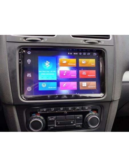 """VW_Seat_Skoda_9""""_4_64_GB_PX5_DSP_Android_Radio_2_din_zdjęcie_główne_3"""