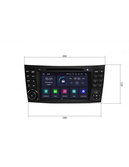 Radio_2_din_Mercedes_W211_PX5_4_64_GB_Android_zdjęcie_główne_1