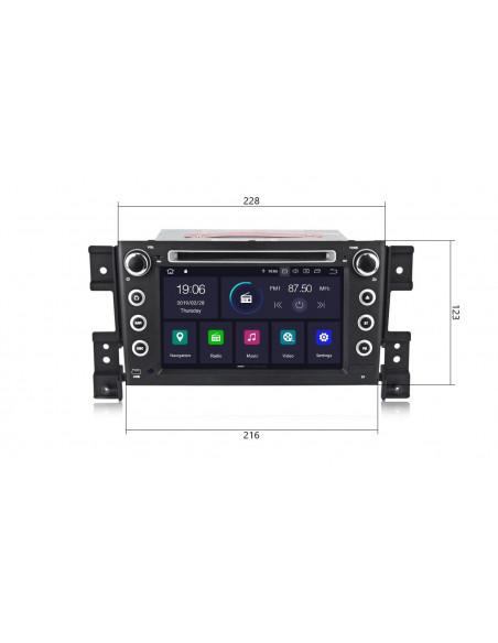 Radio_2_din_Suzuki_Grand_Vitara_PX5_4_64_GB_Android_zdjęcie_główne_3