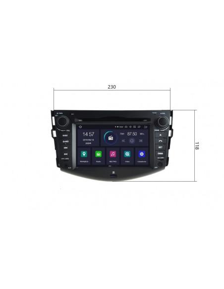 Radio_2_din_Toyota_RAV4_PX5_4_64_GB_Android_zdjęcie_główne_5