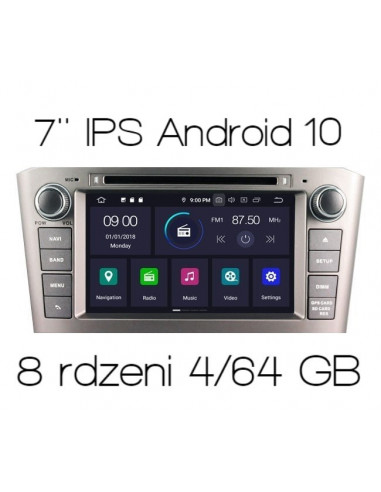 Radio_2_din_Toyota_T25_PX5_4_64_GB_Android_zdjęcie_główne_1