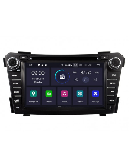 Radio_2_din_nawigacja_Android_Hyundai_I40_zdjęcie_2