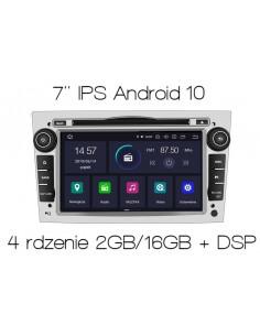 Radio_2_din_srebrny_Opel_Astra_Corsa_Vectra_2_16_PX30_DSP_Android_zdjęcie_główne_1