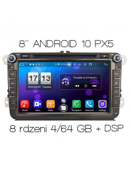 """VW_SEAT_SKODA_8""""_ANDROID_PX5_4/64_GB_DSP_Car_Play_ZDJĘCIE_GŁÓWNE_1"""