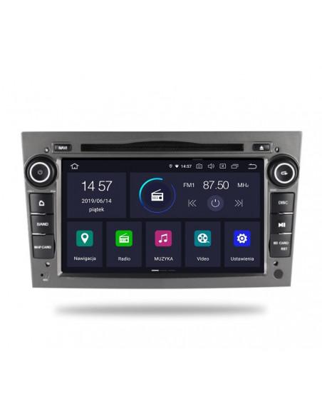Radio_2_din_szare_Opel_Astra_Corsa_Vetra_2_16_PX30_Android_zdjęcie_główne_2