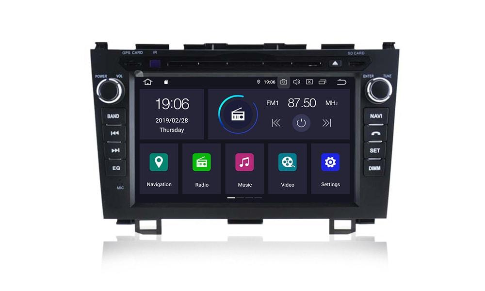 Honda_CR-V_III_radio_2_din_nawigacja_Android_PX5_4_64_GB_interface_menu_główne