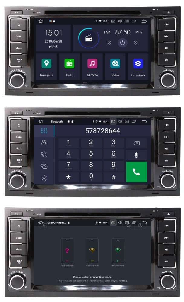 VW_Touareg_Radio_2_din_4_64_GB_Android_PX5_DSP_menu_bluetooth_mirror_link