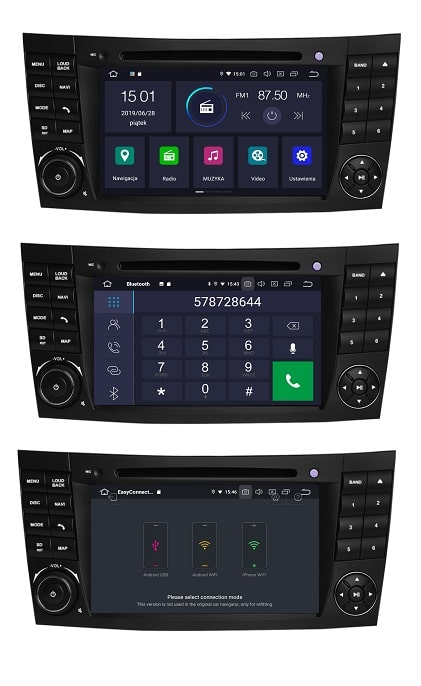 Mercedes_W211_2_16_GB_PX30_Android_DSP_menu_bluetooth_mirror_link