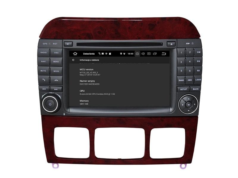 Mercedes_W220_PX5_4_32_GB_Android_Radio_Informacje_o_urządzeniu