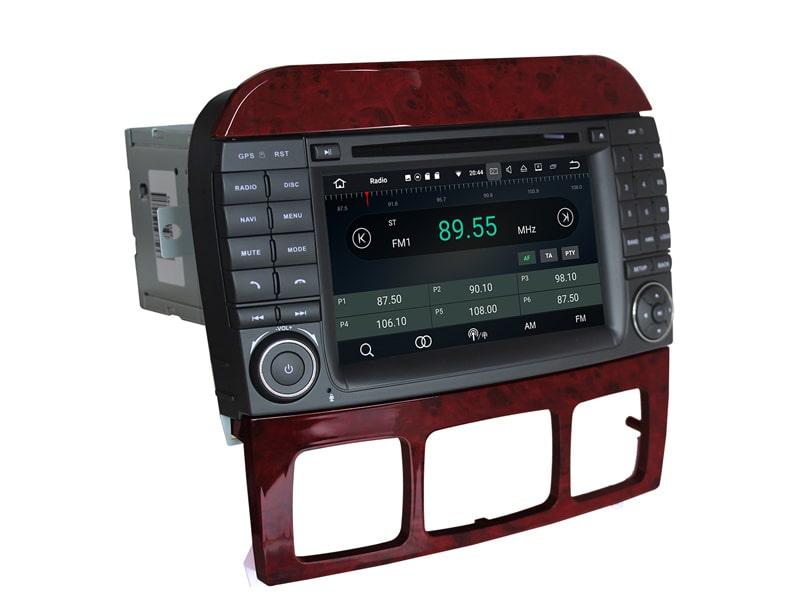 Mercedes_W220_PX5_4_32_GB_Android_Radio_widok_z_lewej