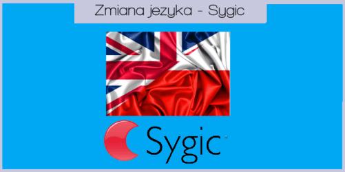Zmiana języka w aplikacji Sygic